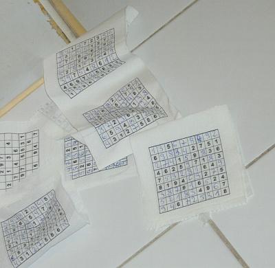 Toilettenpapier - benutzt auf Seite 1